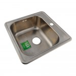 Мойка для кухни IDDIS STRIT 485X485 шёлк STR48S0i77