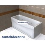 Акриловая ванна AQUATEK Альфа 170x70 с гидромассажем