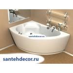 Акриловая ванна AQUATEK Аякс  2 170x110 правая и левая с гидромассажем