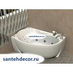 Акриловая ванна AQUATEK Бетта 150x95 правая и левая с гидромассажем