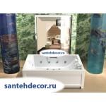 Акриловая ванна AQUATEK Дорадо 190x130 с гидромассажем
