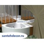Акриловая ванна AQUATEK Юпитер 150x150