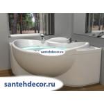 Акриловая ванна AQUATEK Эпсилон 150x150 с гидромассажем