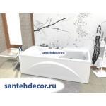 Акриловая ванна AQUATEK Феникс 180x85 с гидромассажем