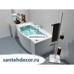 Акриловая ванна AQUATEK Гелиос 180x90 с гидромассажем