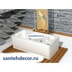 Акриловая ванна AQUATEK Леда 170x80 с гидромассажем