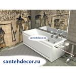 Акриловая ванна AQUATEK Либра 170x70 с гидромассажем