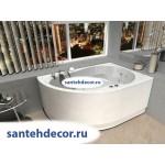 Акриловая ванна AQUATEK Вирго 150x100 правая и левая