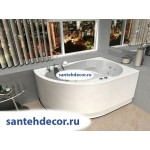 Акриловая ванна AQUATEK Вирго 150x100 правая и левая с гидромассажем