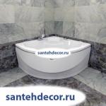 """Гидромассажная акриловая ванна """"Верона"""" 1490х1490"""
