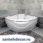 """Гидромассажная  акриловая ванна """"Филадельфия"""" 1680х1680"""