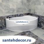 "Гидромассажная акриловая ванна ""Варна"" 1650х1050"