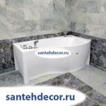 """Гидромассажная  акриловая ванна """"Миранда"""" 1680х950"""