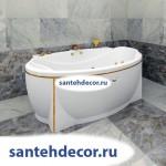 "Гидромассажная акриловая ванна ""Лагуна"" 1850х1240"