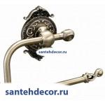 Бумагодержатель без крышки Gabriel Classic Bronze 13903-1-Bronze