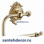 Бумагодержатель без крышки  Gabriel Classic Gold 13903-1-Gold