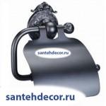 Бумагодержатель с крышкой Gabriel Antic Brass 13903-4- VBR