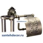 Бумагодержатель+освежитель Gabriel Classic Bronze 13903-3B-Bronze
