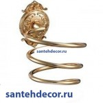Держатель фена  Gabriel Classic Gold 13908-2-Gold