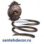 Держатель фена Gabriel Antic Brass  13908-2-VBR
