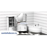 Мебель для ванной комнаты Belux Ария В 110