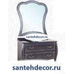 Мебель для ванной комнаты Bellezza Грация Люкс-110 тумба из массива дуба  + раковина + мраморная столешница