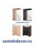 Мебель для ванной комнаты Bellezza Камелия-55 тумба прямая пленка ПВХ + раковина