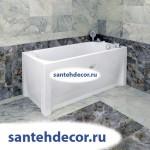 """Гидромассажная акриловая ванна """"Ника"""" 1500х700"""