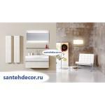 Мебель для ванной комнаты  Aqwella 5 Stars Bergamo 100