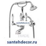 Смеситель для ванны и душа CEZARES DIAMOND-VD хром