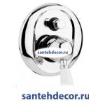 Смеситель для ванны и душа CEZARES ELITE-VDIM встраиваемый хром