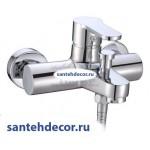 Смеситель для ванны и душа CEZARES LACONICO-VD-01 хром