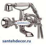 Смеситель для ванны и душа CEZARES RETRO-VD2-01 хром