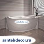 Ванна акриловая РАДОМИР АМЕЛИЯ 1600х1050