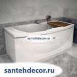 """Гидромассажная  акриловая ванна """"Альма"""" 1680x840"""