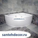 "Гидромассажная акриловая ванна ""Лоуэл"" 1680х1200"
