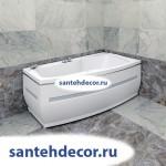 """Гидромассажная акриловая ванна """"Аризона"""" 1700х1000"""