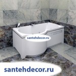 "Гидромассажная акриловая ванна ""Валенсия"" 1700х950"