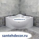 """Гидромассажная акриловая  ванна """"Флоренция"""" 1480х1480"""