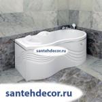 """Гидромассажная акриловая  ванна  """"Паллада""""  1700х1000"""