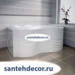 Ванна акриловая РАДОМИР ПАЛЛАДА 1700х1000