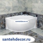 "Гидромассажная  акриловая ванна ""Мелани"" 1400х950"