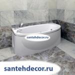 """Гидромассажная  акриловая ванна  """"Неаполи""""  1800х850"""