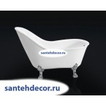 Ванна Bel Bagno свободностоящая на ножках BB08 /CRM/BRN/ORO-147