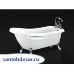 Ванна Bel Bagno свободностоящая на ножках BB20 /CRM/BRN/ORO-178
