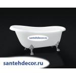 Ванна Bel Bagno свободностоящая на ножках BB04 /CRM/BRN/ORO/170