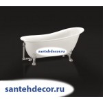 Ванна Bel Bagno свободностоящая на ножках BB06 /CRM/BRN/ORO/155-170