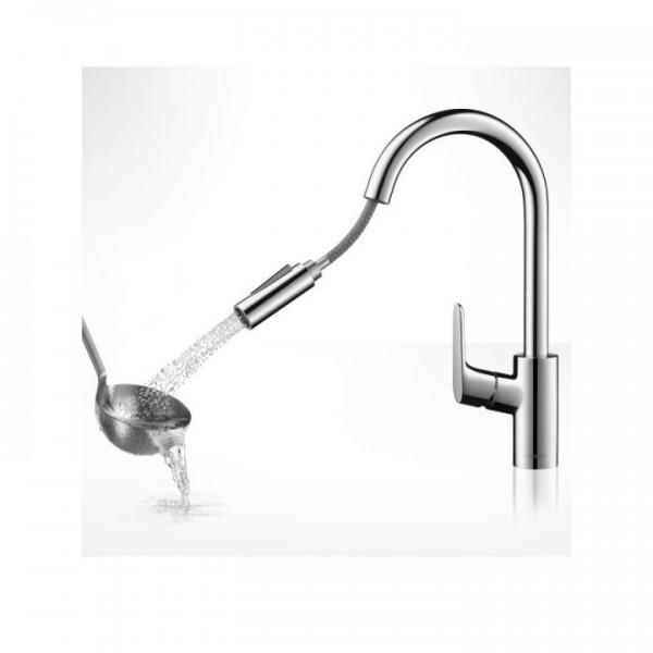 Купить смеситель для кухни hansgrohe focus 31820000, с боковой ручкой - 8 821 руб